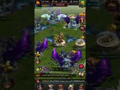 Clash Of King Castle Decorations And Hero