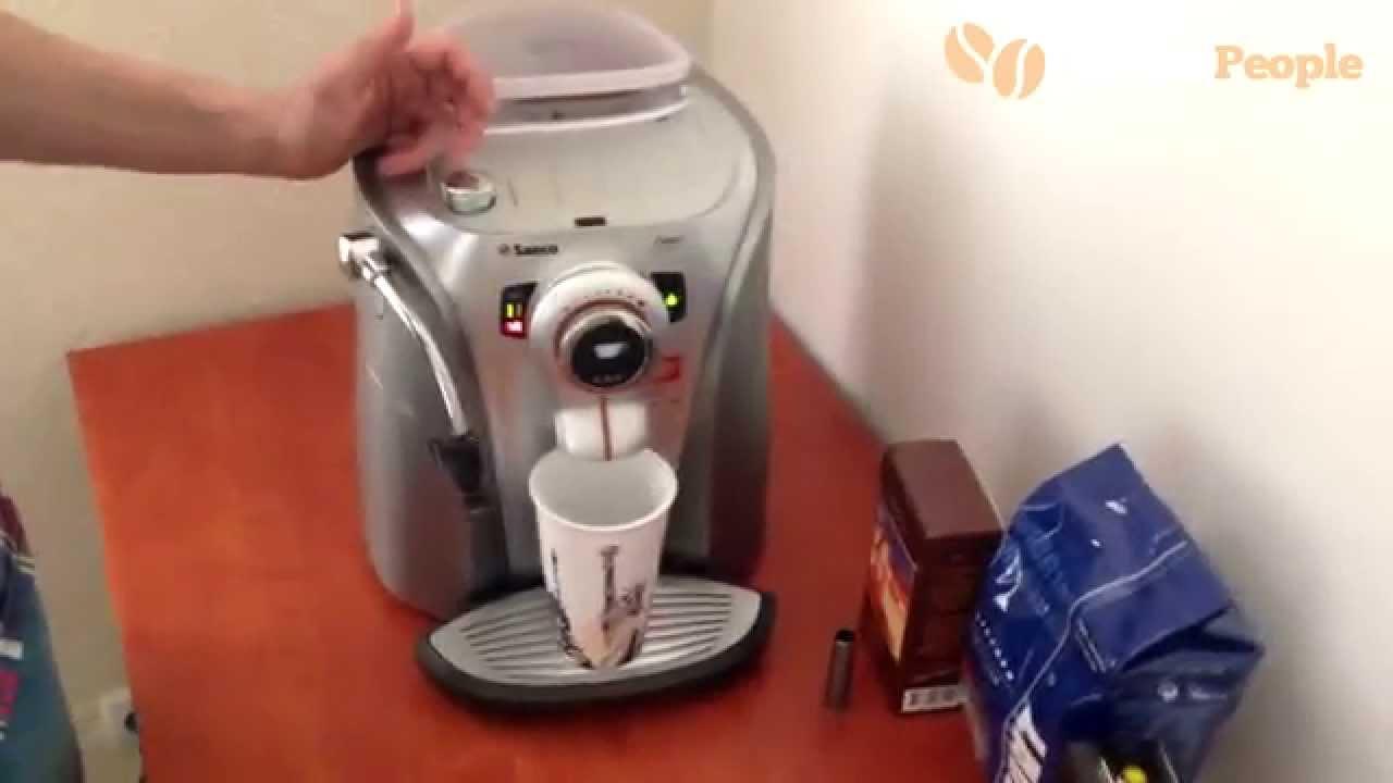 Как смазать рабочий блок (заварное устройство) кофемашин Saeco .