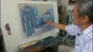文人政事Art Profile—鍾奕華畫生命記憶 交織緬甸與南台灣情感