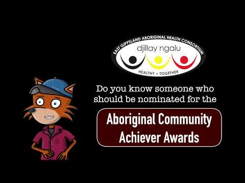 Nominate someone for the Djillay Ngalu Aboriginal Community Achiever Awards