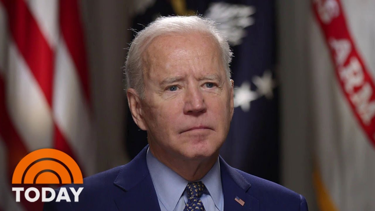 President Biden Talks About Spending, Race, Pandemic, Immigration In Exclusive TODAY Interview