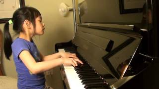 Chopin Fantasie Impromptu, Op.66 (Melody played at 7 years old)