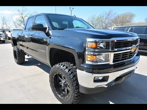 2014 Chevrolet Silverado 1500 LT Double Cab Lifted Truck ...