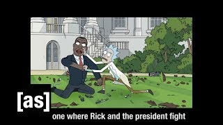 Breaking 'The Rickchurian Mortydate' | Rick and Morty | Adult Swim