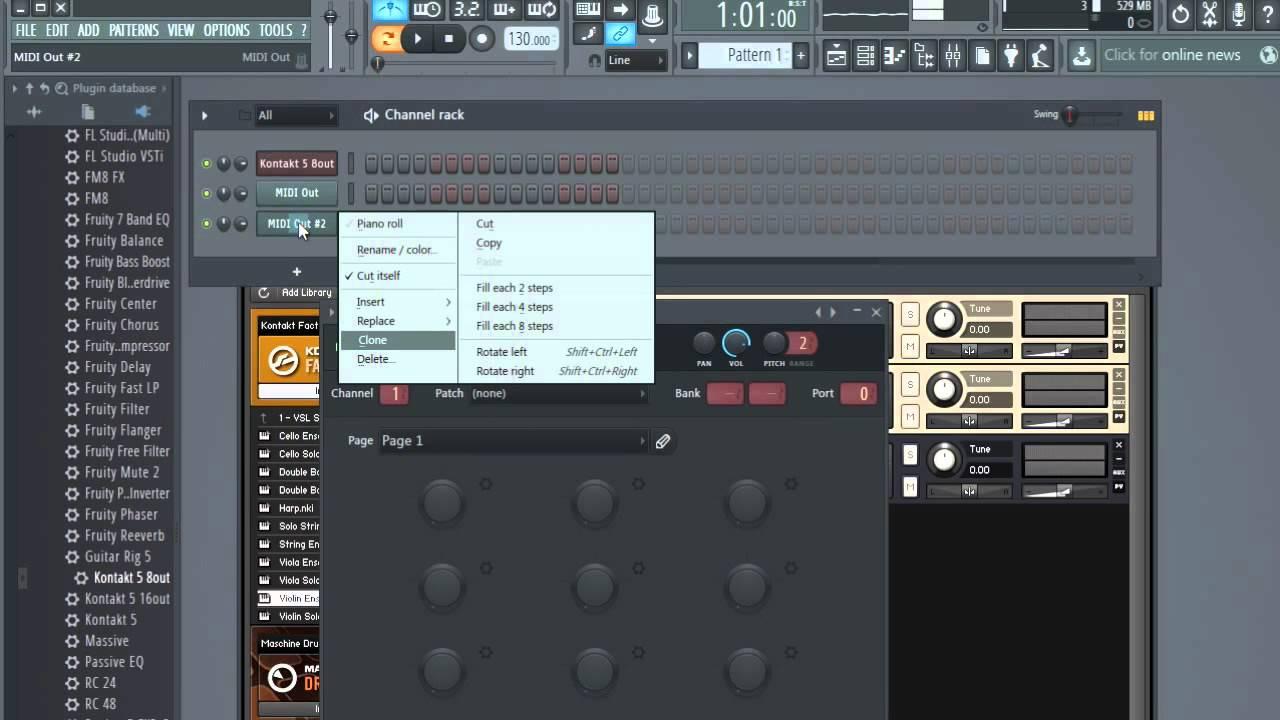 fl studio 20 kontakt