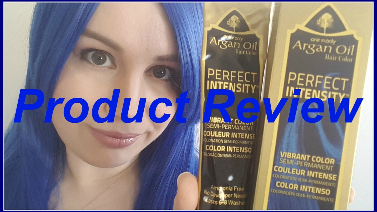 One And Onlys Argan Oil Hair Color Perfect Intensity Product