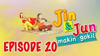 """Jin Dan Jun Makin Gokil Episode 20 """"Tamu Dari Dunia Jin"""" - Part 1"""