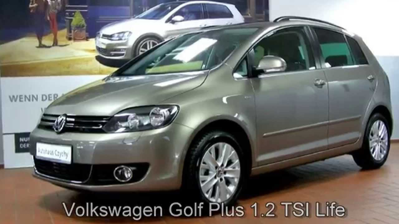volkswagen golf plus 1 2 tsi life ew523928 kaschmirbraun autohaus czychy youtube. Black Bedroom Furniture Sets. Home Design Ideas