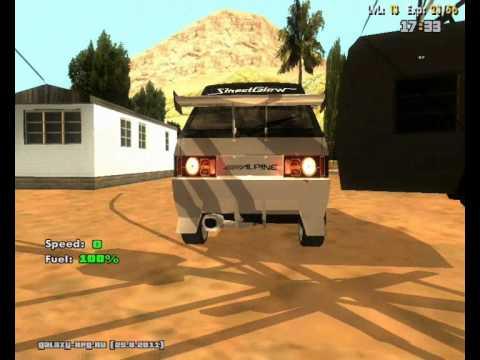 Русский Тюнинг в GTA San Andreas