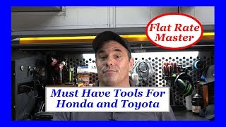 Must Have Tools For Honda and Toyota