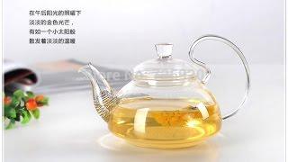 Обзор стеклянного жаропрочного чайника с Алиэкспресс!