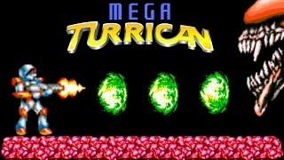 Mega Turrican прохождение (Sega Mega Drive, Genesis) + All Secrets