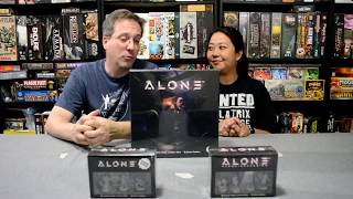 Unboxing of Alone by Horrible Games