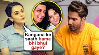 Tapsee Pannu Takes A DIG At Kangana Ranaut And Varun Dhawan FIGHT