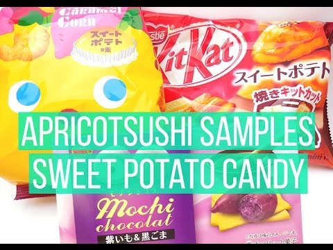 Apricotsushi Samples: Sweet Potato Candy