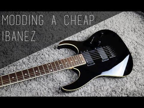 Modding a cheap Ibanez RG | Part 1: Ideas