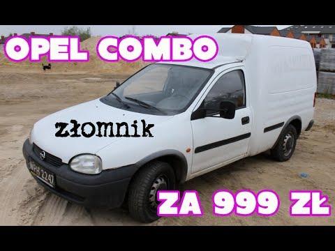 Złomnik: Opel Combo z POLSKĄ HISTORIĄ! za 999 zł
