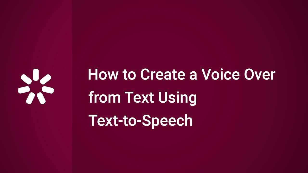 How to Create a Voice Over from Text Using Text to Speech in iSpring Suite #1