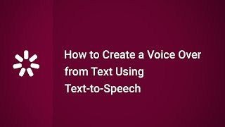 How to Create a Voice Over from Text Using Text to Speech in iSpring Suite