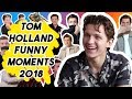 SPOILER-MAN TOM HOLLAND FUNNY MOMENTS 2018 | Spider-Man: Far From Home