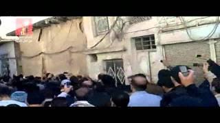 شباب سورية-دمشق-برزة-ثورة ثورة سورية..ثورة عز وحرية.10-11