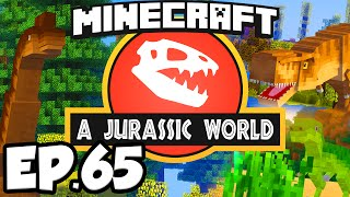 Jurassic World: Minecraft Modded Survival Ep.65 - ME NETWORK!!! (Dinosaurs Modpack)
