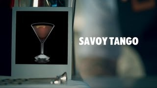 SAVOY TANGO DRINK RECIPE - HOW TO MIX