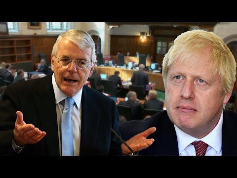 Sir John Major compares Boris Johnson to councillors buying land to kick out gipsies