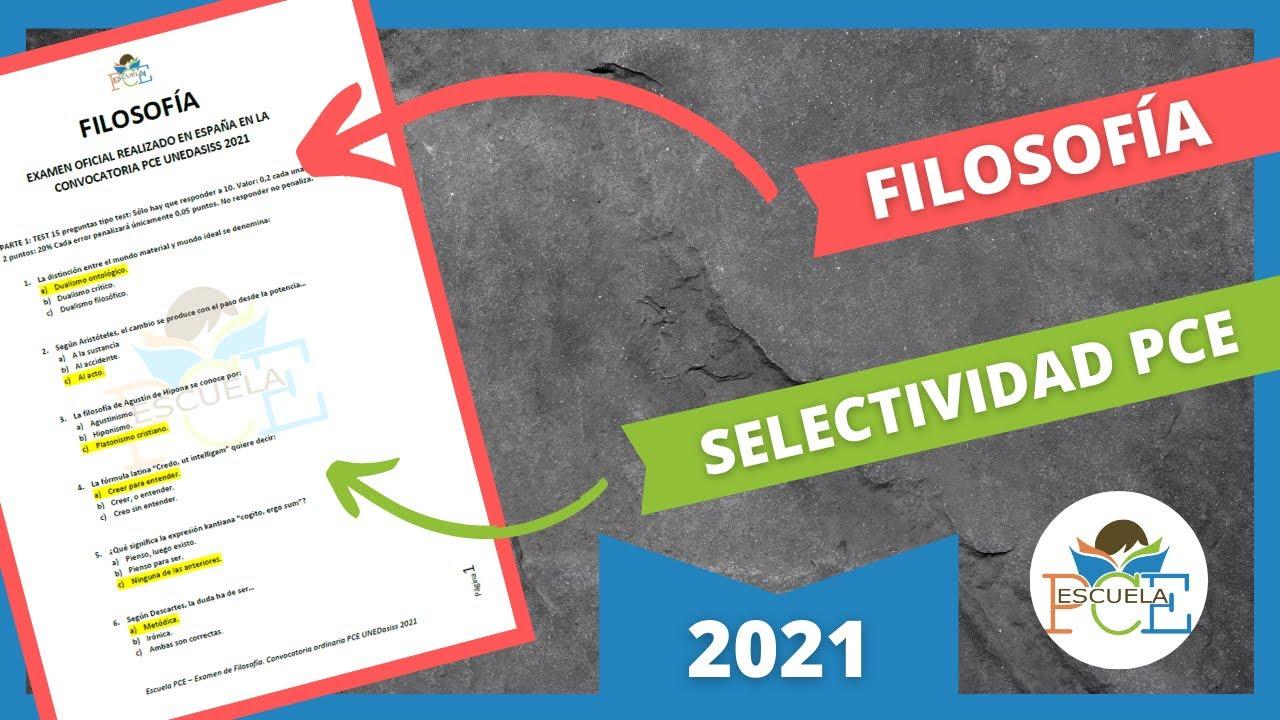 Download ✔️ EXAMEN SELECTIVIDAD 2021 PCE FILOSOFÍA RESUELTO