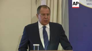 Lavrov: We will not take orders from US on Syria