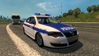 ETS2 #121   Volkswagen Passat Policia TDI 2.0   JMGAMER