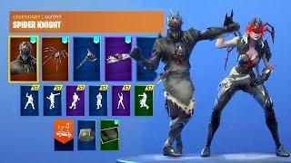 *NEW* Fortnite Skins & Emotes..! (Electro Swing, Halloween Skins)