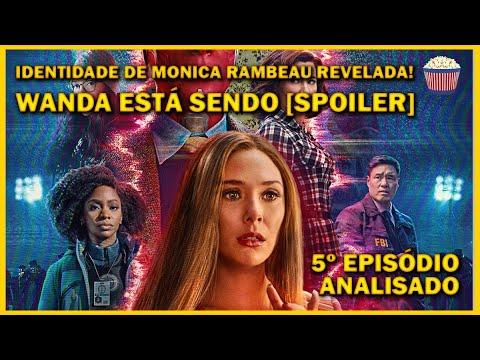 Wanda está sendo [SPOILER] e Monica é... #WandaVision 5º ep Analisado e Explicado