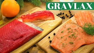 2 Delicious Cured Salmon/Gravad Lax Recipes - Beetroot and Dill-cured Gravlax  | Fuzz & Buzz