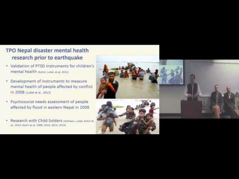 Mental Health Response to the Nepal Earthquakes
