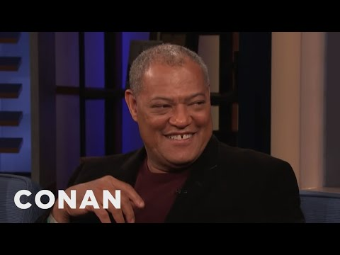 Laurence Fishburne Invites Conan On A Christmas Day Motorcycle Ride - CONAN On TBS