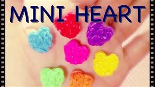 【レインボールーム】小さなハートの作り方 簡単!【ファンルーム】[Rainbow loom] mini - tiny - Heart Charm (Easy!)