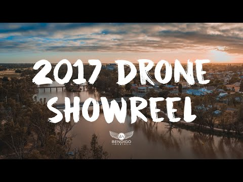 Central Victoria - View from Above | Bendigo Drone Aerial Showreel 2017 🎥