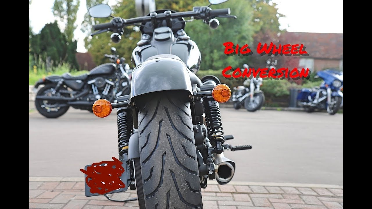 Wide Wheel Harley 180 Conversion - Dyna Lowrider S