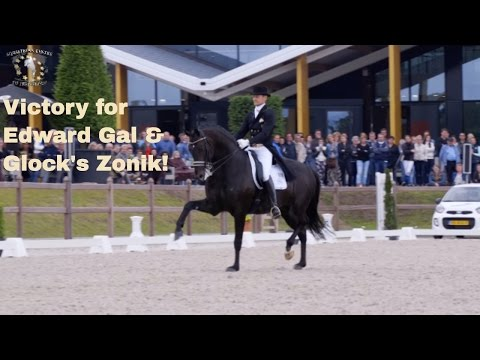 Edward Gal and Glock's Zonik wins Prix St. George at de Peelbergen Netherlands