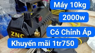 Máy Rửa Xe ZNC 2000w Có Chỉnh Áp -Máy rửa xe - máy rửa xe áp lực