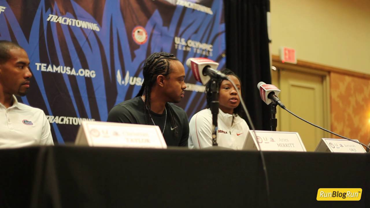 Keturah Orji @ 2016 Olympic Trials Press Conference
