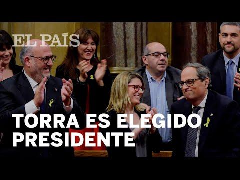 QUIM TORRA, investido PRESIDENT de Cataluña