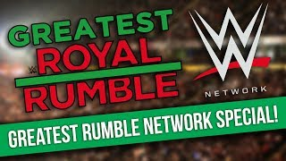 WWE 'Greatest Royal Rumble' Broadcast Info | JR's Favourite Match
