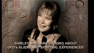 SHIRLEY MACLAINE TALKING ABOUT UFO's, ALIENS AND SPIRITUAL EXPERIENCES