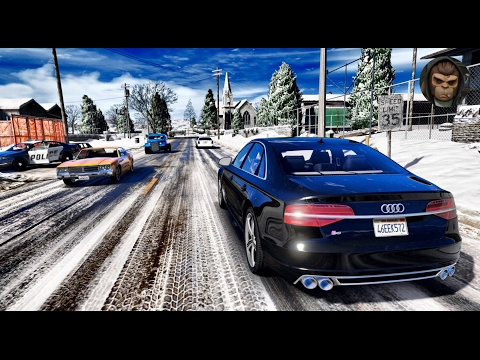 ► GTA 6 Graphics - Audi S8! 2017 ✪ REDUX - Gameplay! Ultra Realistic Graphics MOD PC -1080p60 FPS