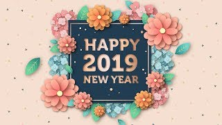 NEW YEAR 2019 Animation happy new year 2019
