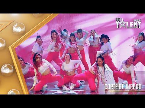 ¡Una ráfaga de energía rosa! GYMDANCE se lució en el escenario