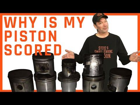 Scored Chainsaw Piston - Failure Analysis