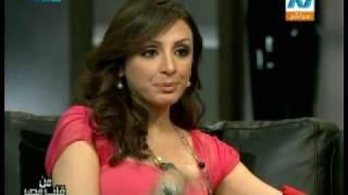 المطربة أنغام في برنامج من قلب مصر7